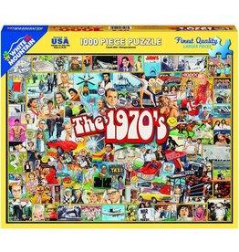 White Mountain The 1970s 1000 pc Puzzle