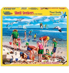 White Mountain Shell Seekers 550 pc Puzzle