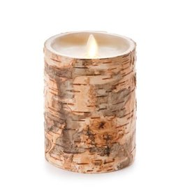 "Luminara 4"" x 5"" Embedded Birch Pillar"