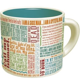 The Unemployed Philosophers Guild Greatest First Lines Of Literature Ever Mug