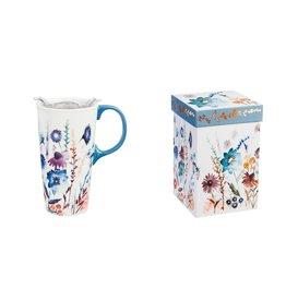 Evergreen Wildflowers Ceramic Mug