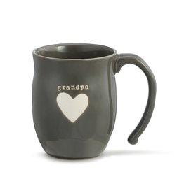 DEMDACO Grandpa Heart Mug