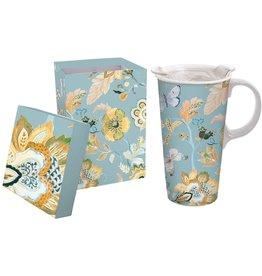 Evergreen Golden Garden Ceramic Mug