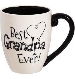 Evergreen Best Grandpa Ever Mug w/ Gift Box