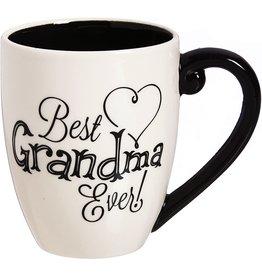 Evergreen Best Grandma Ever Mug w/ Gift Box