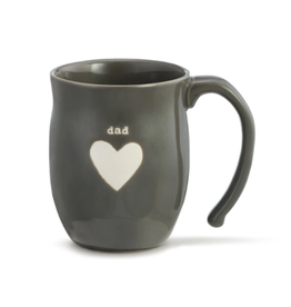 DEMDACO Dad Heart Mug