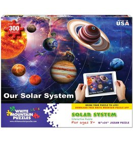 White Mountain Our Solar System Puzzle