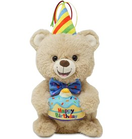 Cuddle Barn Animated Musical Plush Birthday Bear