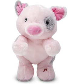 Cuddle Barn Animated Musical Plush Wilbur