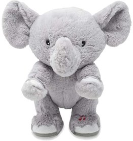 Cuddle Barn Animated Musical Plush Elephant