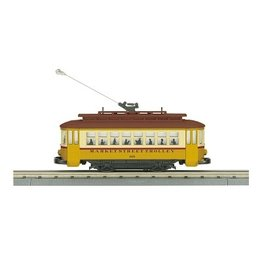 MTH Electric Trains Market Street Bump-N-Go Trolley