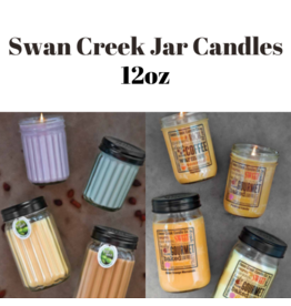 Swan Creek Jar Candle 12oz.