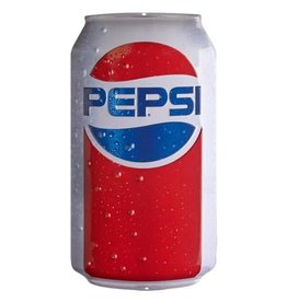 Ande Rooney Tin Sign Pepsi Can