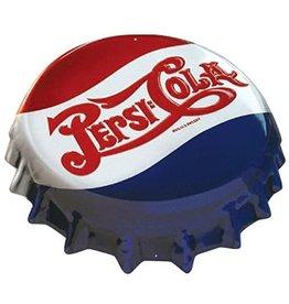 Ande Rooney Tin Sign Pepsi Bottle Cap