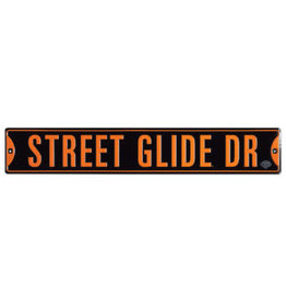 Ande Rooney Tin Sign Harley Davidson Street Glide Drive