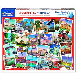 White Mountain Snapshots of America Puzzle