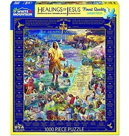 White Mountain Healings of Jesus Puzzle