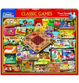 White Mountain Classic Games Puzzle