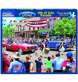 White Mountain 4th of July Parade Puzzle