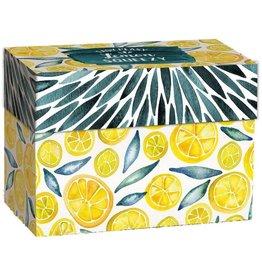 Lang Recipe Card Box Lemon Squeezy