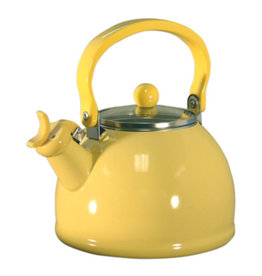 Reston Lloyd Yellow Whistling Tea Kettle