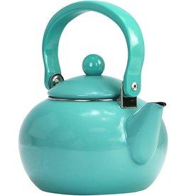 Reston Lloyd Turquoise Tea Kettle Non-Whistling