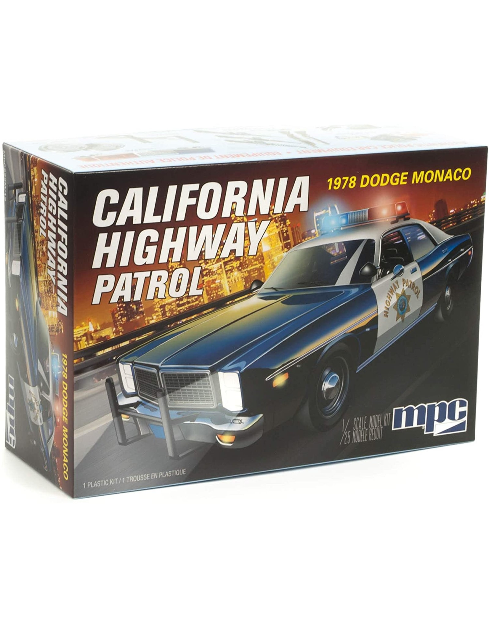 MPC/Round2models 1978 Dodge Monaco California Highway Patrol 1/25 Scale