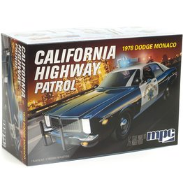 MPC/Round2models 1978 Dodge Monaco California Highway Patrol 1/25 Scale