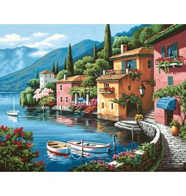 Dimensions Lakeside Village Paint By Number