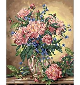Dimensions Peony Floral Paint By Number