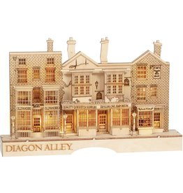 Department 56 Harry Potter Diagon Alley Wood Cut Lighted Decor