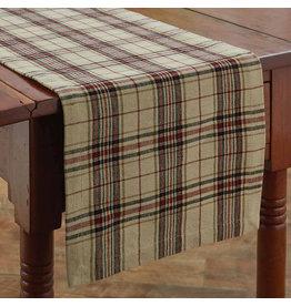 """Park Designs 36"""" Table Runner - Stanford"""