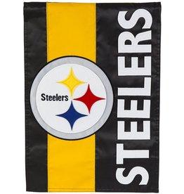 Evergreen Steelers Stripe Flag