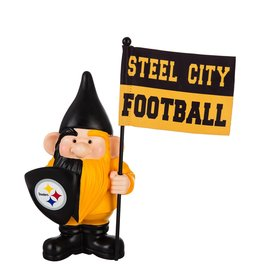 Team Sports America Flag Holder Gnome Pittsburgh Steelers