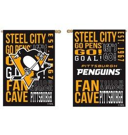 Evergreen Pittsburgh Penguins House Flag