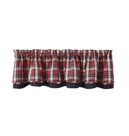 Park Designs Lined Layered Valance - Providence