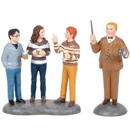 Department 56 Professor Slughorn & the Trio