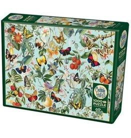 Cobble Hill Puzzle Company Fruit And Flutterbies 1000 pc Puzzle