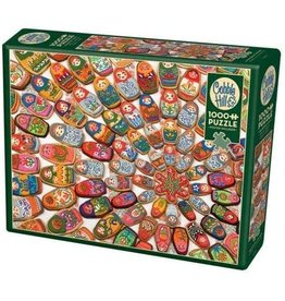 Cobble Hill Puzzle Company Matryoshka Cookies 1000 pc Puzzle