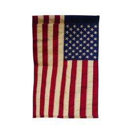 Evergreen Tea Stained American Flag