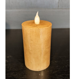 "Wing Tai 3"" Flameless Candle -  Tan"