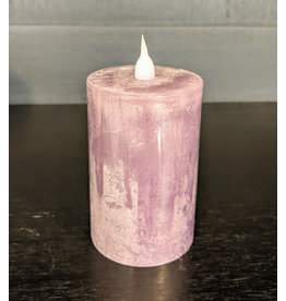 "Wing Tai 3"" Flameless Candle - Purple"