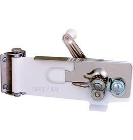 Browne Essentials Swing-A-Way Can Opener - White