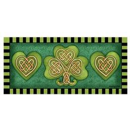 Sassafras Switch Mat Celtic Shamrock