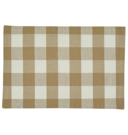 Park Designs Wicklow Check Natural Placemat