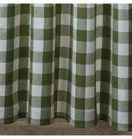 Park Designs Wicklow Check Sage Shower Curtain
