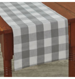 Park Designs Wicklow Check Dove Table Runner