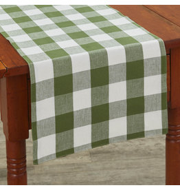 Park Designs Wicklow Check Sage Table Runner