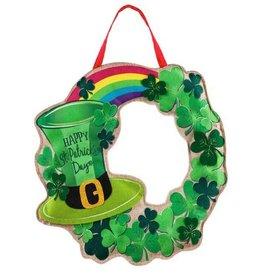 Evergreen Door Décor St. Patrick's Day Wreath