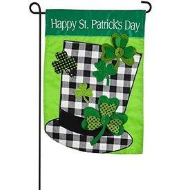 Evergreen Garden Flag St. Patrick's Day Hat
